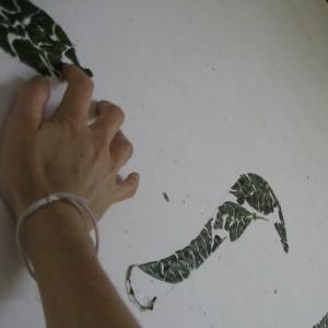 Leaf Mosaic, Hantana, 2006