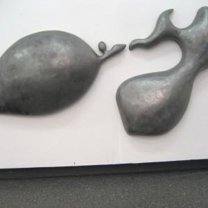 <i>Molten Solder I</i> and <i>Molten Solder II</i> cold cast aluminium, 2008